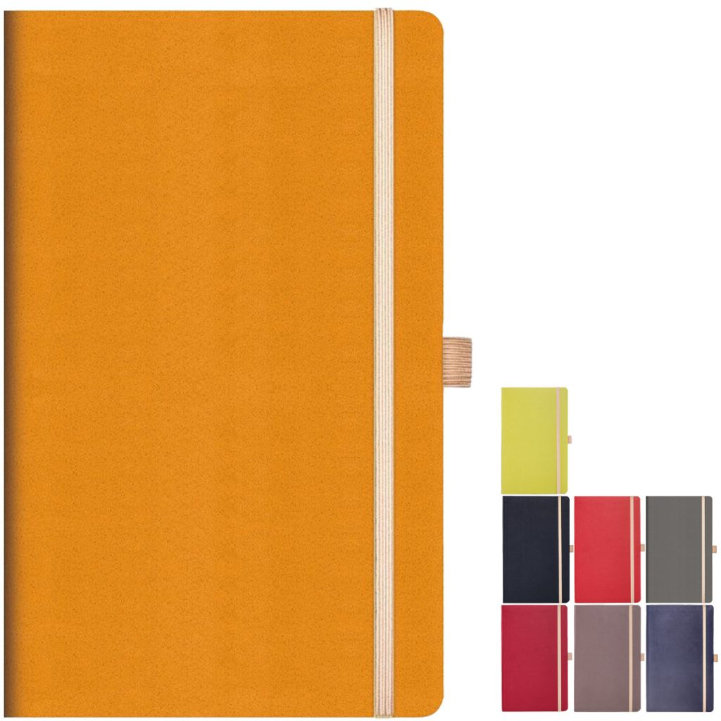 Appeel Eco Branded Notebooks made from parts of apple. Available from Eco Promos.