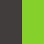 Charcoal/Lime Green