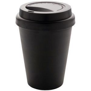 Recyclable Eco Friendly Branded Coffee Cups from Eco Promos available in Black