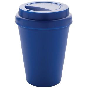 Recyclable Eco Friendly Branded Coffee Cups from Eco Promos available in Blue