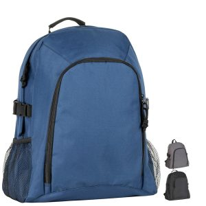 Image showing Chillenden Recycled Promotional Backpack from Ecopromos available in 3 colours