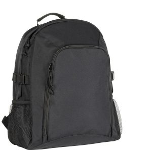 Black Chillenden Recycled Promotional Backpack