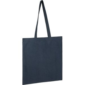 5oz Seabrook Recycled Branded Tote Bags from Eco Promos available in 6 Corporate Colours including Navy