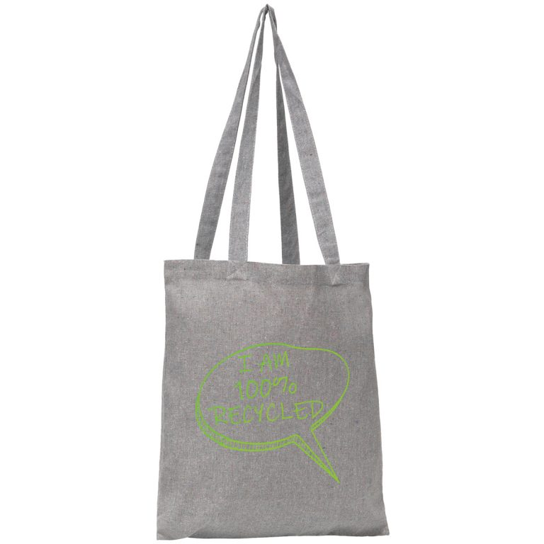 Image of Newchurch Recycled branded tote bag from Ecopromos.co.uk
