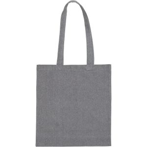 Grey Newchurch Recycled Branded Tote Bag
