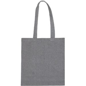 Newchurch Recycled Branded Tote Bags from Eco Promos available in Grey
