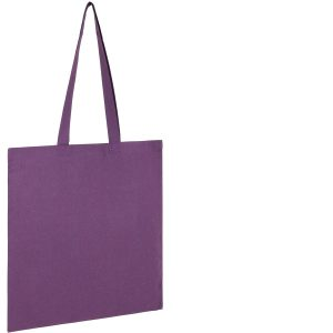 Seabrook Branded Recycled Tote Bags available in Purple