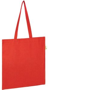 Seabrook Branded Recycled Tote Bags available in Red