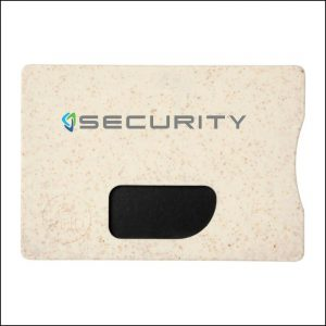 Front Padprinting on Eco Friendly Promotional RFID Card Protector