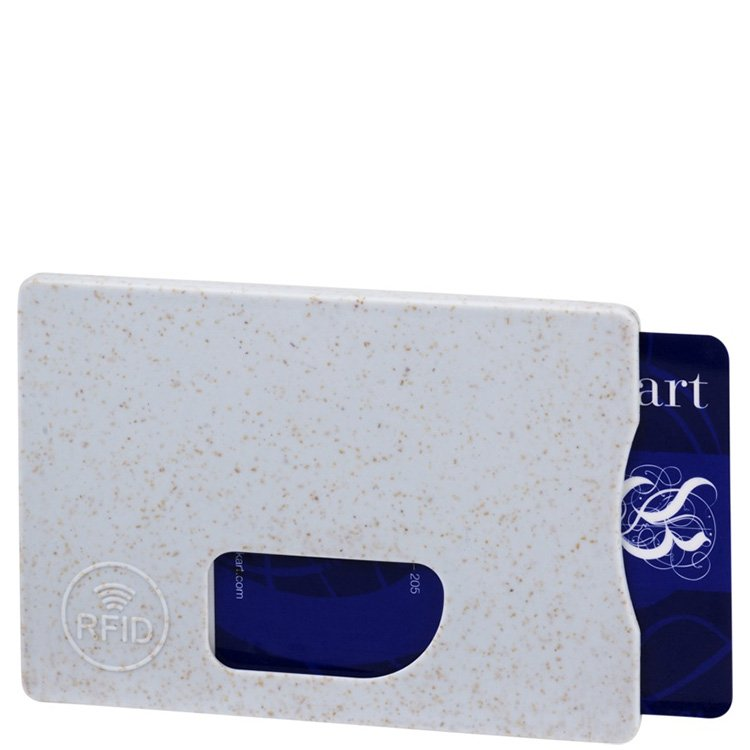 Straw RFID Branded Card Holder
