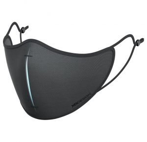 Product image showing Reusable Branded Face Masks Set from Eco Promos available in Black/Blue colour