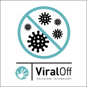 The Reusable Branded Face Masks Set from Eco promos have ViralOff® treatment to protect against virus transference.