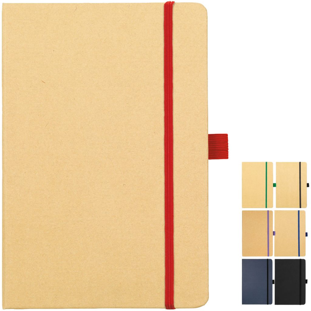 Image Showing the Collection available for Broadstairs Eco Recycled Branded Notebooks from Eco Promos