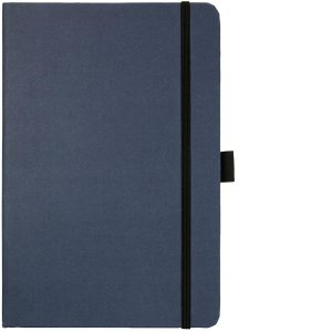Image Showing Blue Notebook available for Broadstairs Eco Recycled Branded Notebooks from Eco Promos
