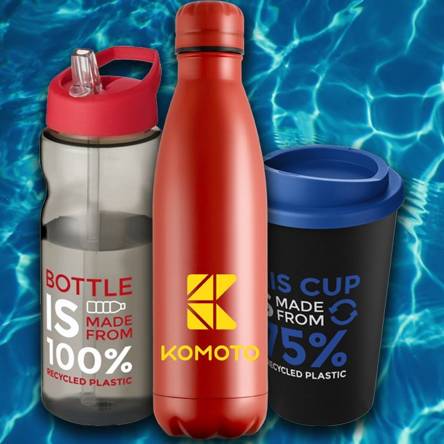 Eco Promotional Drinkware part of the Eco Promotional Products UK available from Eco Promos