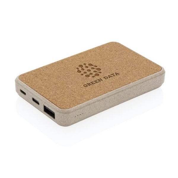 eco 5000mah branded power banks with engraved company logo