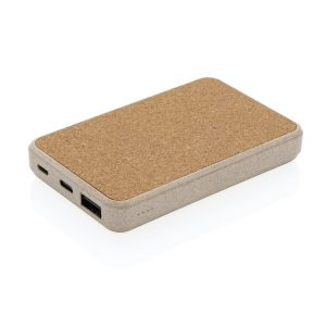 Eco 5000mah branded power banks ready to be engraved with your company logo
