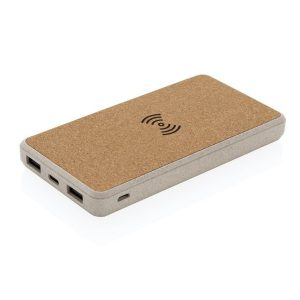 8000mah Eco Branded Wireless Power Banks from Eco Promos