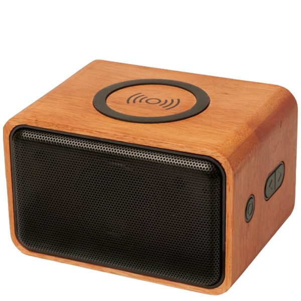Image of Wooden Eco Branded Speaker from Eco Promos