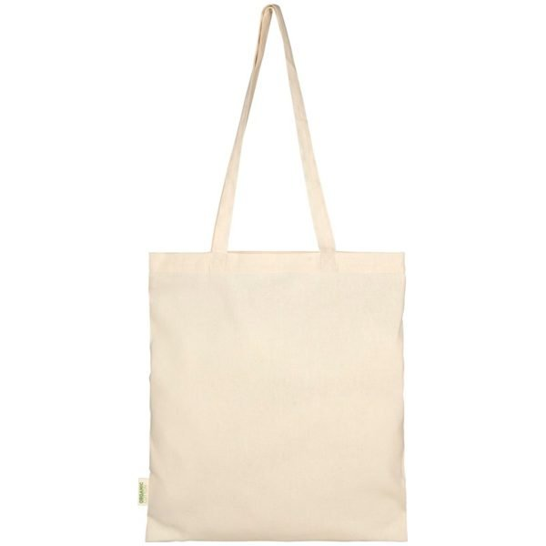 Gots Organic Promotional Tote Bags flat