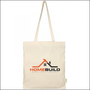 Screen Print on Orissa Organic Promotional Tote Bags from Eco Promos