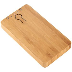 Image of Grove 5000mAh Bamboo Branded Power Banks