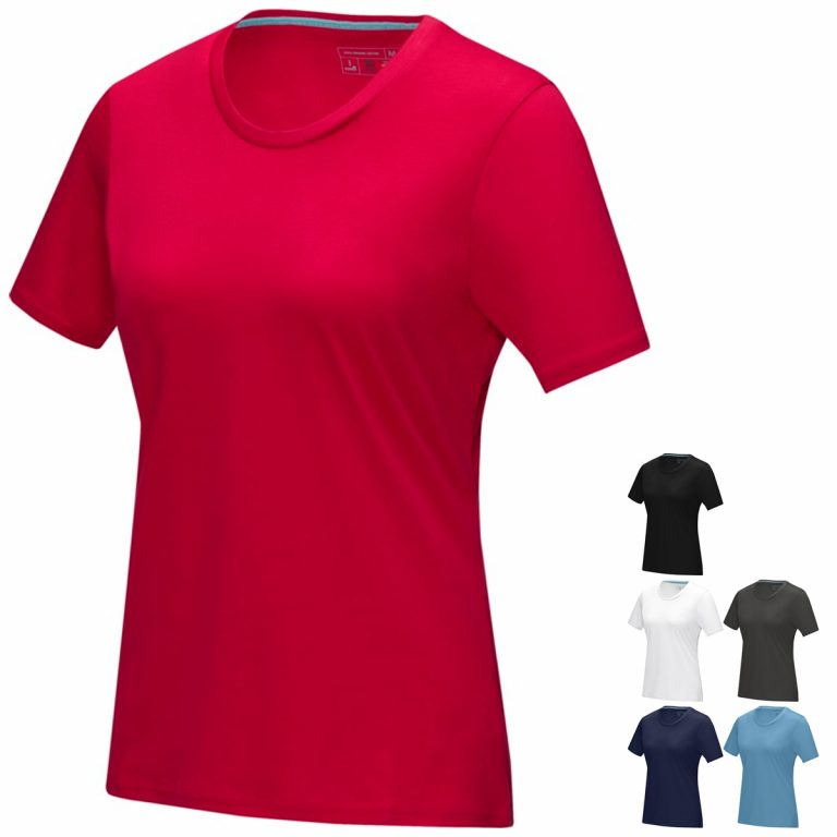 Women's Azurite Eco Promotional Tshirt from Eco Promos, your source for Eco Promotional Products