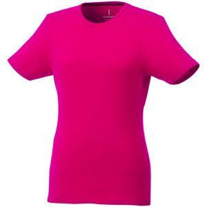 Balfour Eco Custom Tshirt from Eco Promos in Magenta