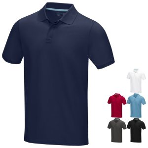 Graphite Eco Custom Polo Shirts from Eco Promos