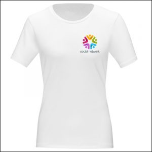 Eco Promotional T-shirt Printed Chest
