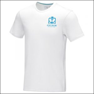 Balfour Eco Promotional T-Shirts with printed chest