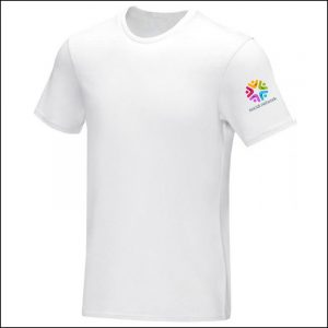 Balfour Eco Promotional T-Shirts with printed sleeve