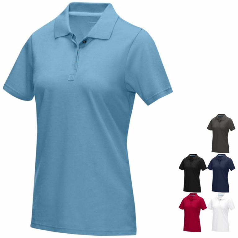 Graphite Eco Printed Polo Shirts from Eco Promos